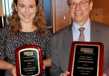 EMSOP Recognized by the New Jersey Society of Health-Systems Pharmacists for Leadership and Mentorship