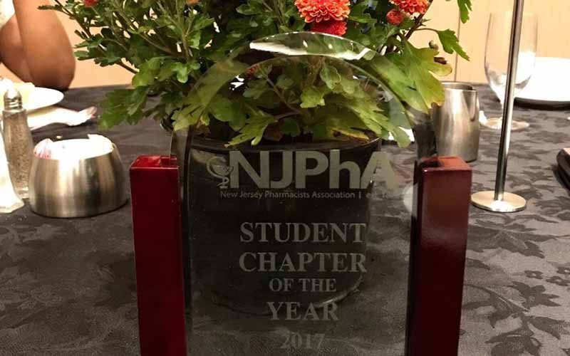 EMSOP Receives NJPhA Student Chapter of the Year 2017 Award
