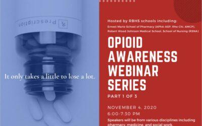 Opioid Awareness Webinar Series