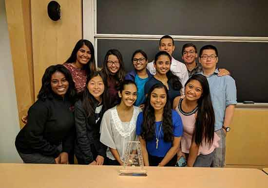 Rutgers SNPhA receives the National  Chapter Excellence Award